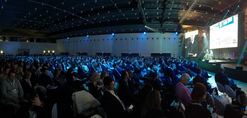 Marketers gather at a really huge conference