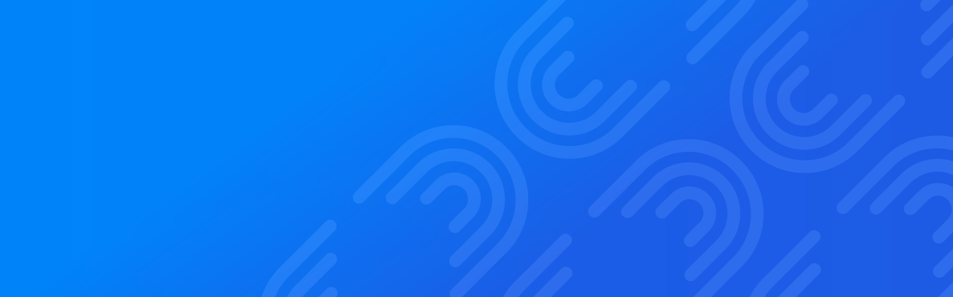 Fancy swirls on blue