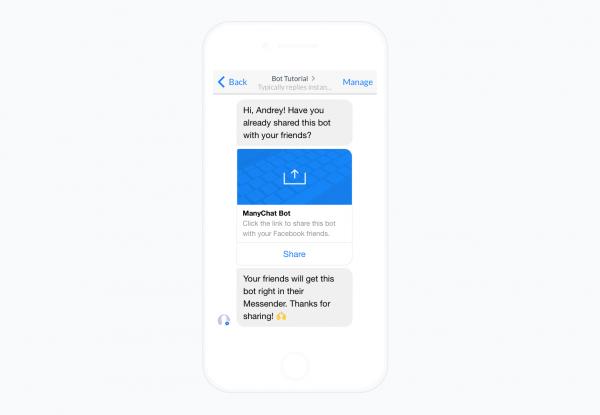 Tips & Tricks: Sharing Your ManyChat Bot - Messenger Marketing