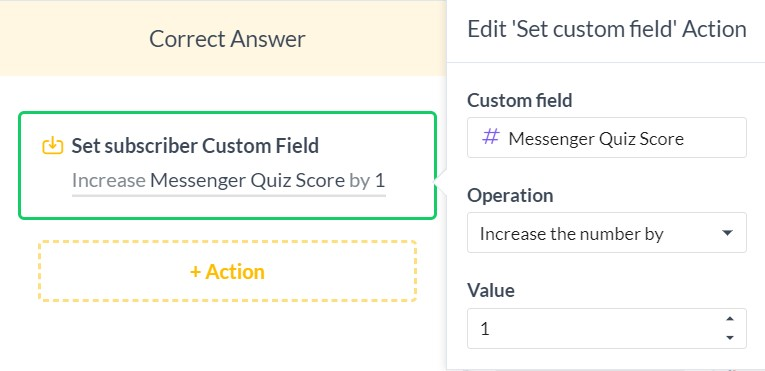 Create Your First Chatbot Quiz | Scoring in ManyChat quiz