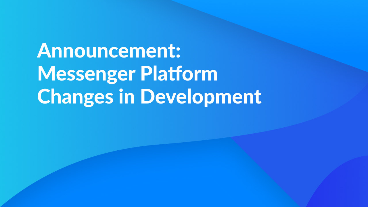 facebook changes in development