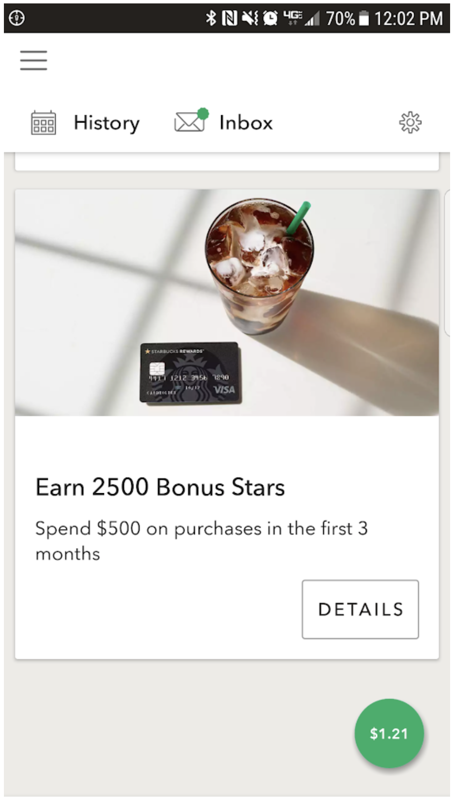 starbucks loyalty rewards program example