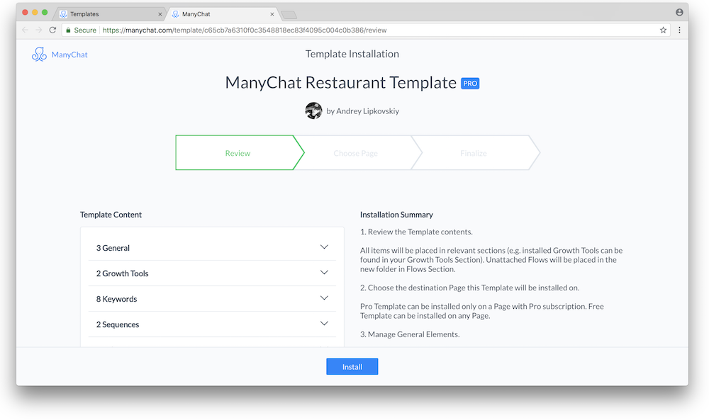 New: ManyChat Templates | Pre-built Solutions, Strategy Share, and More!