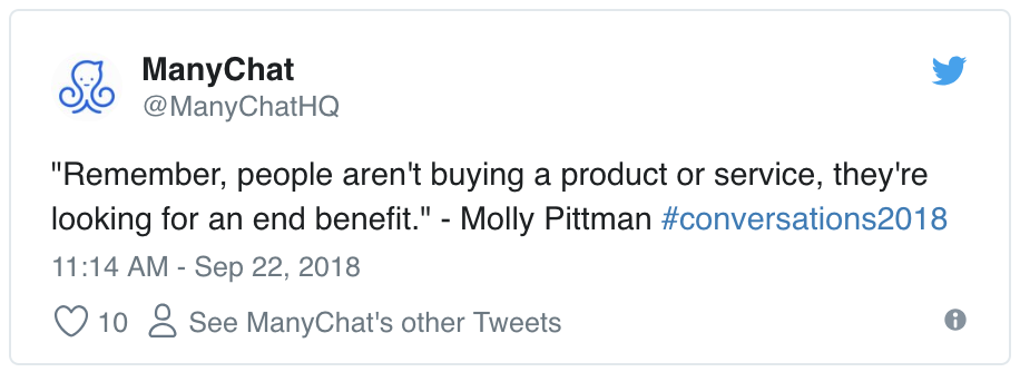 Molly Pittman tweet