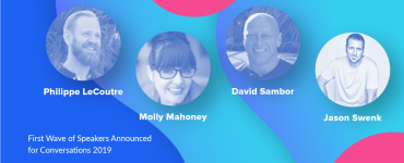 Speakers Announcement for Conversations 2019