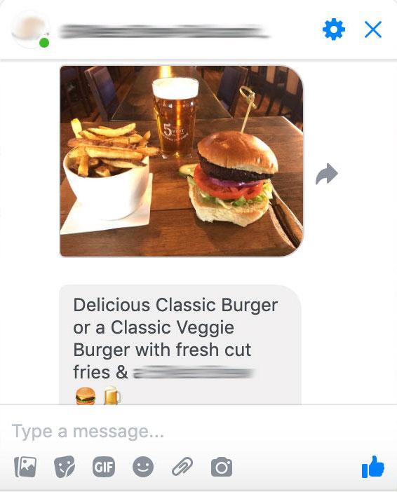 Restaurant Marketing Idea #1: Messenger Marketing