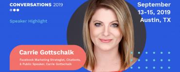 Carrie Gottschalk Conversations 2019 Speaker