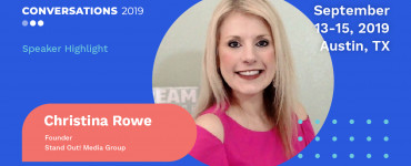 Christina Rowe Speaker Announcement