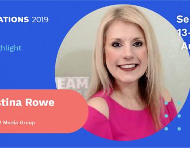 Christina Rowe Speaker Announcement