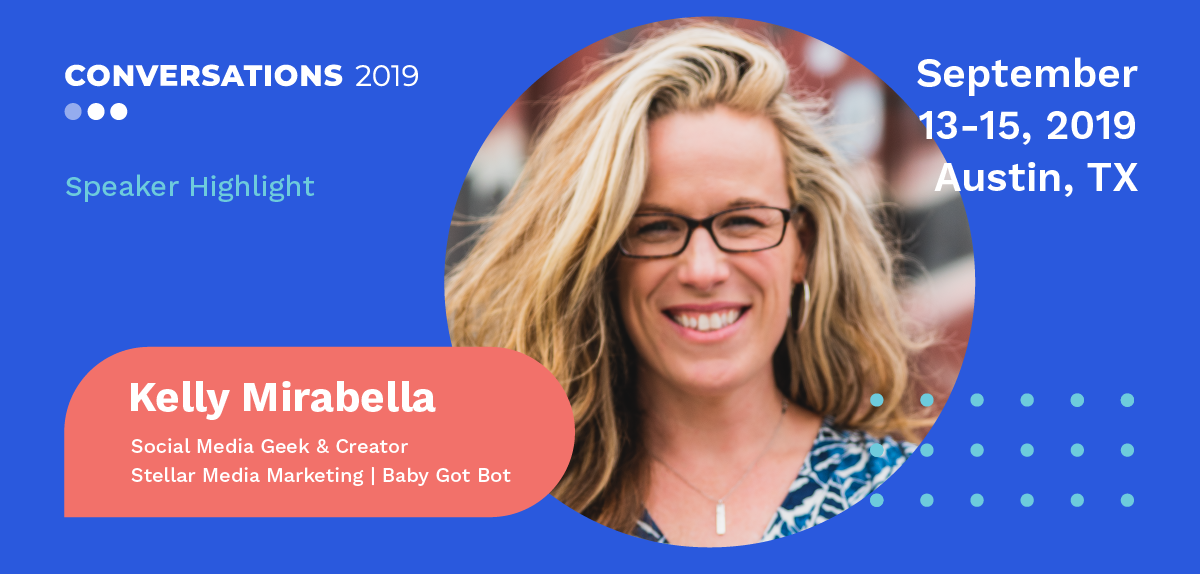 Kelly Noble Mirabella speaker at Conversations 2019