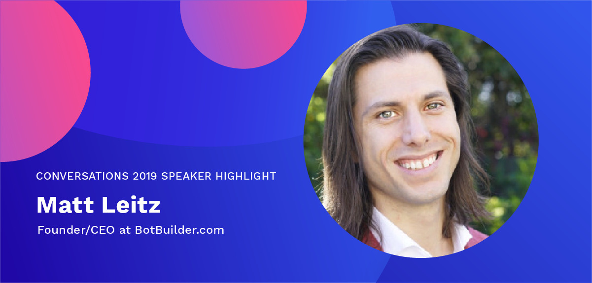 Matt Leitz Conversation 2019 Speaker