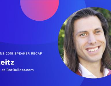 Matt Leitz Meet the Speaker Recap