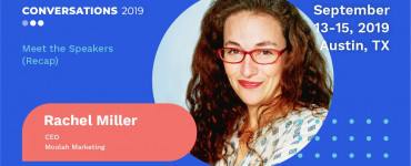 Rachel Miller Conversations 2019 Speaker Recap