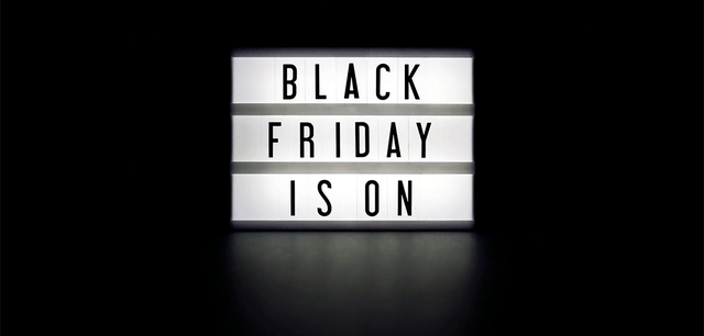 Black Friday Marketing Hero Image