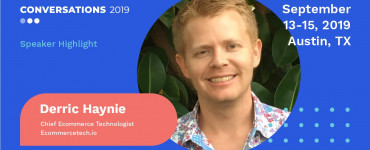 Speaker announcement Derric Haynie