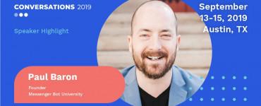 Paul Baron Conversations 2019