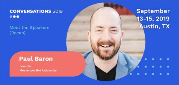 Conversations 2019 Meet the Speakers: Derric Haynie (Recap