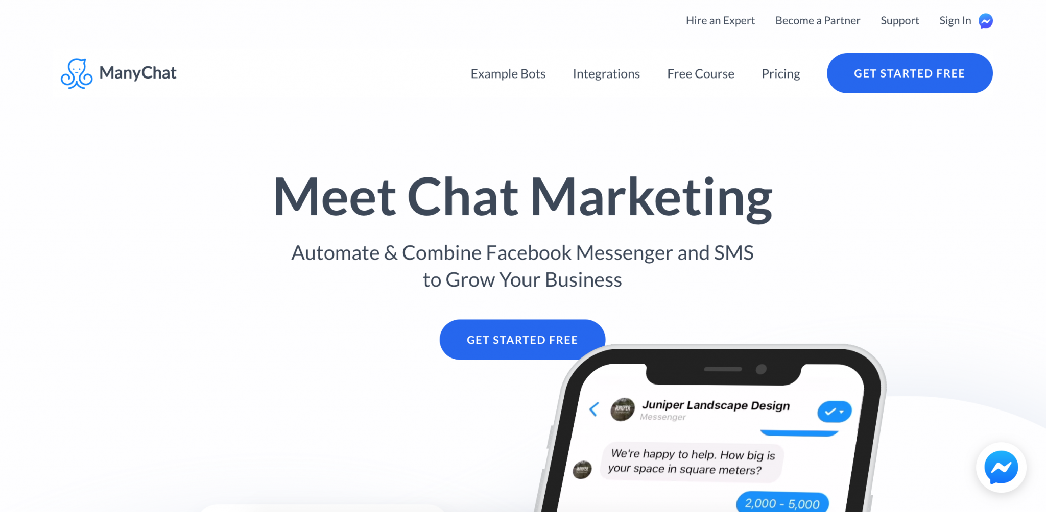 Top Marketing Tool Example #7 - ManyChat | 16 Powerful Marketing Tools You Haven't Considered (But Probably Should)