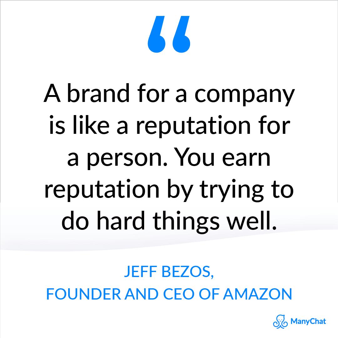 Entrepreneur quote by Jeff Bezos