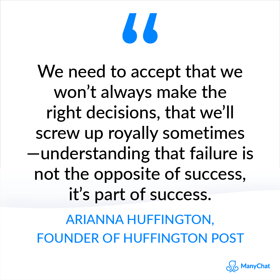 Entrepreneur quotes - Arianna Huffington