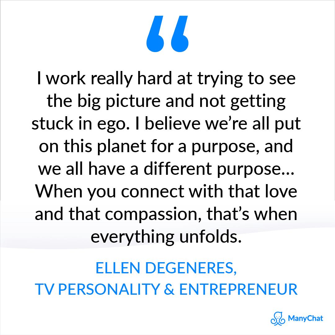 Entrepreneurial spirit quote by Ellen Degeneres