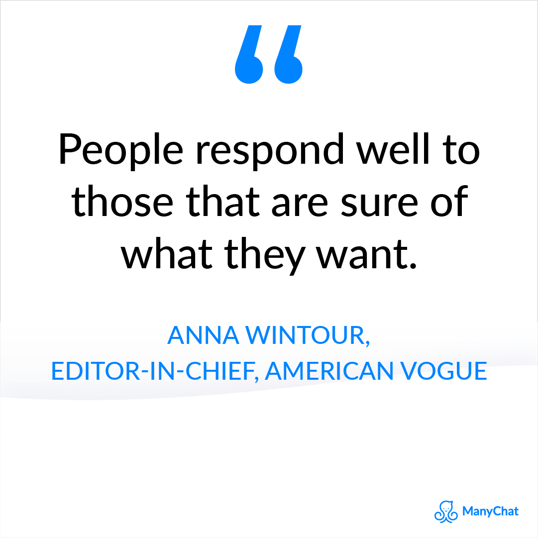 Entrepreneur quotes - Anna Wintour