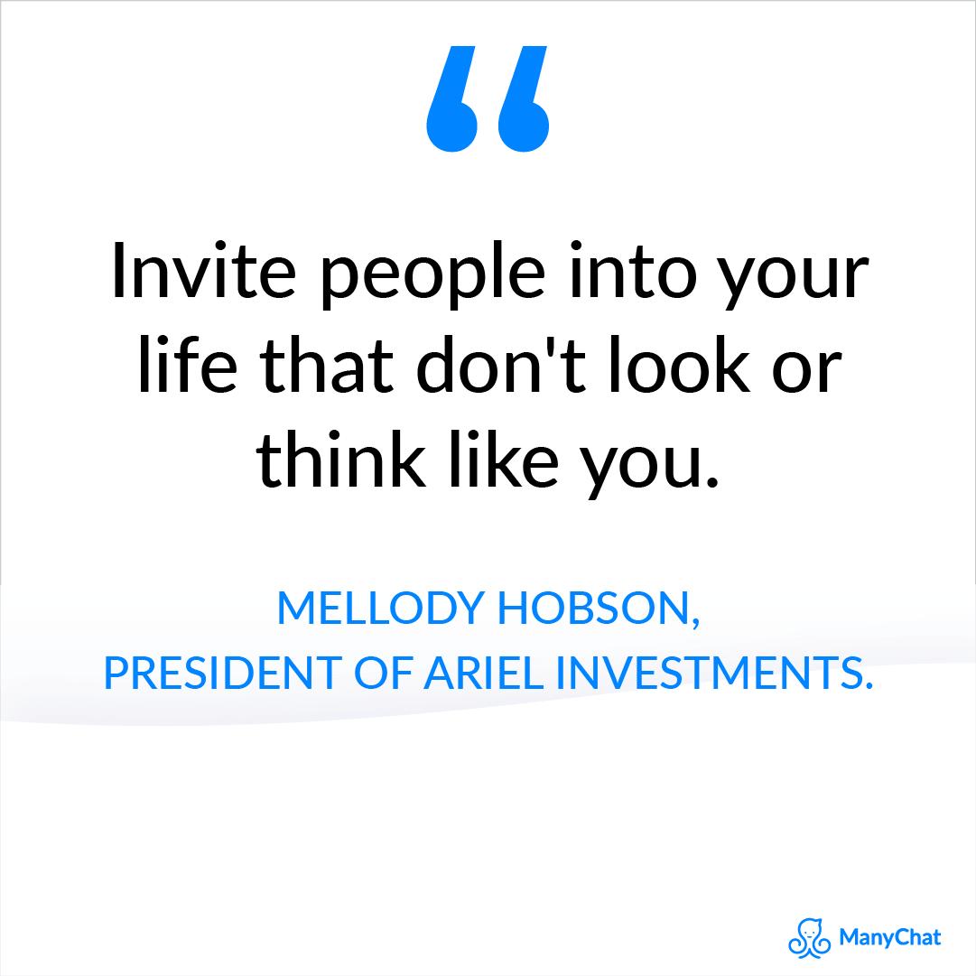 Black Entrepreneur quotes - Mellody Hobson