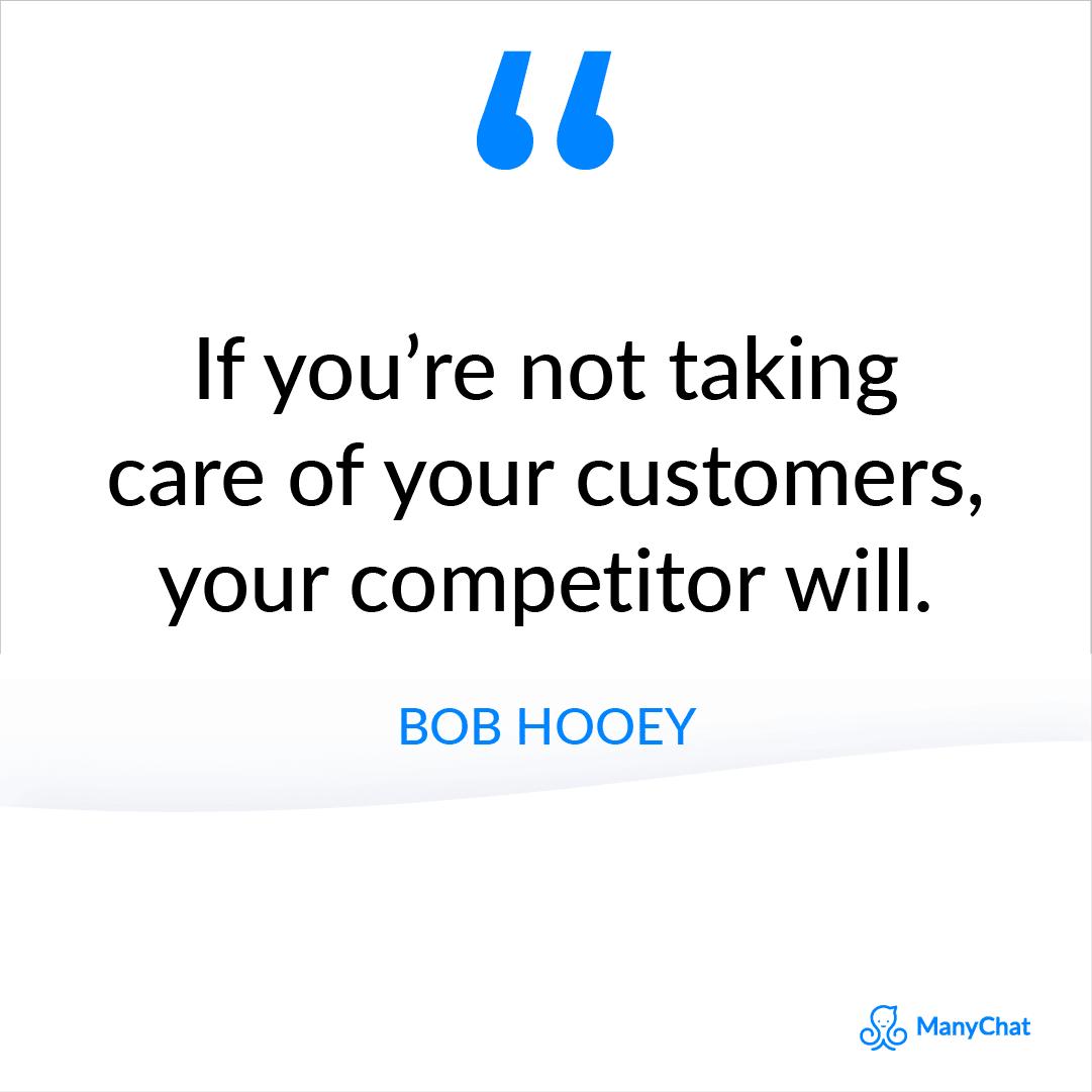 Bob Hooey Sales Quote