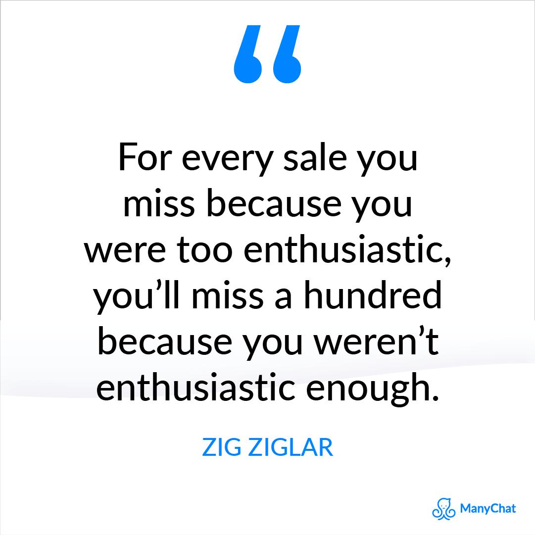 Zig Ziglar Motivational Sales Quotes to Get You Pumped