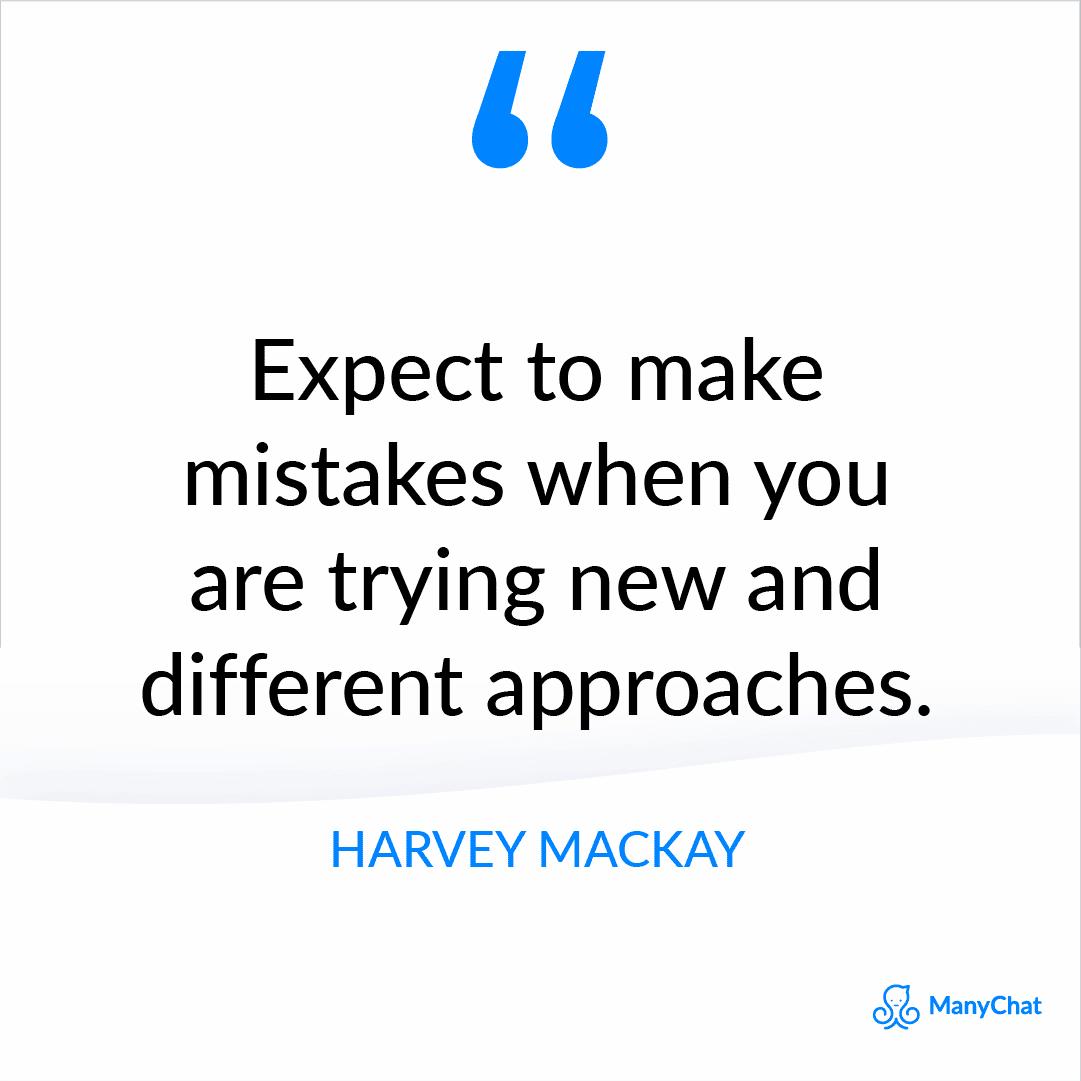 Harvey Mackay Quote