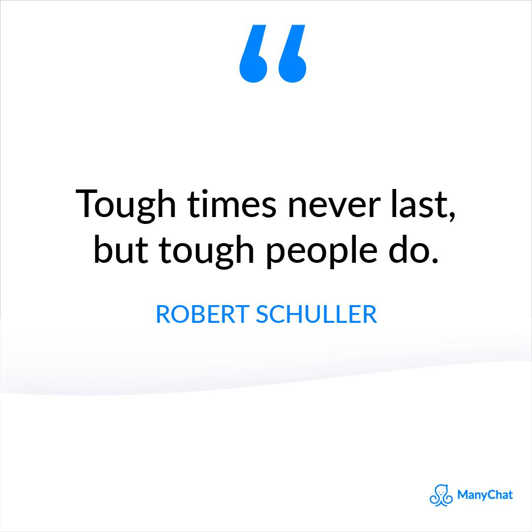 Robert Schuller Quote