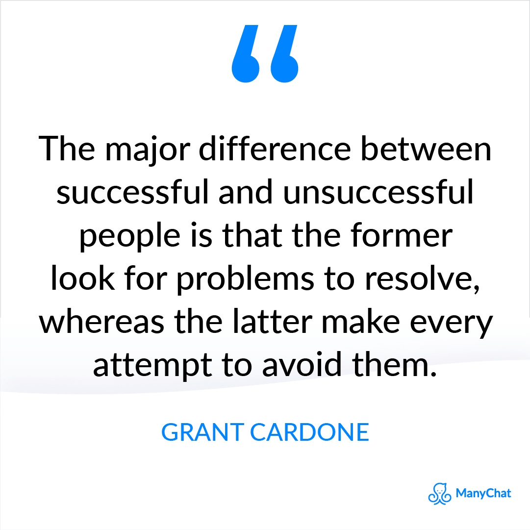 Success Quote from Grant Cardone