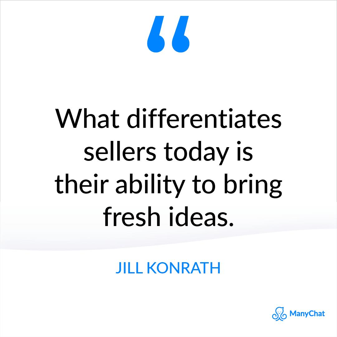 Sales Quote from Jill Konrath