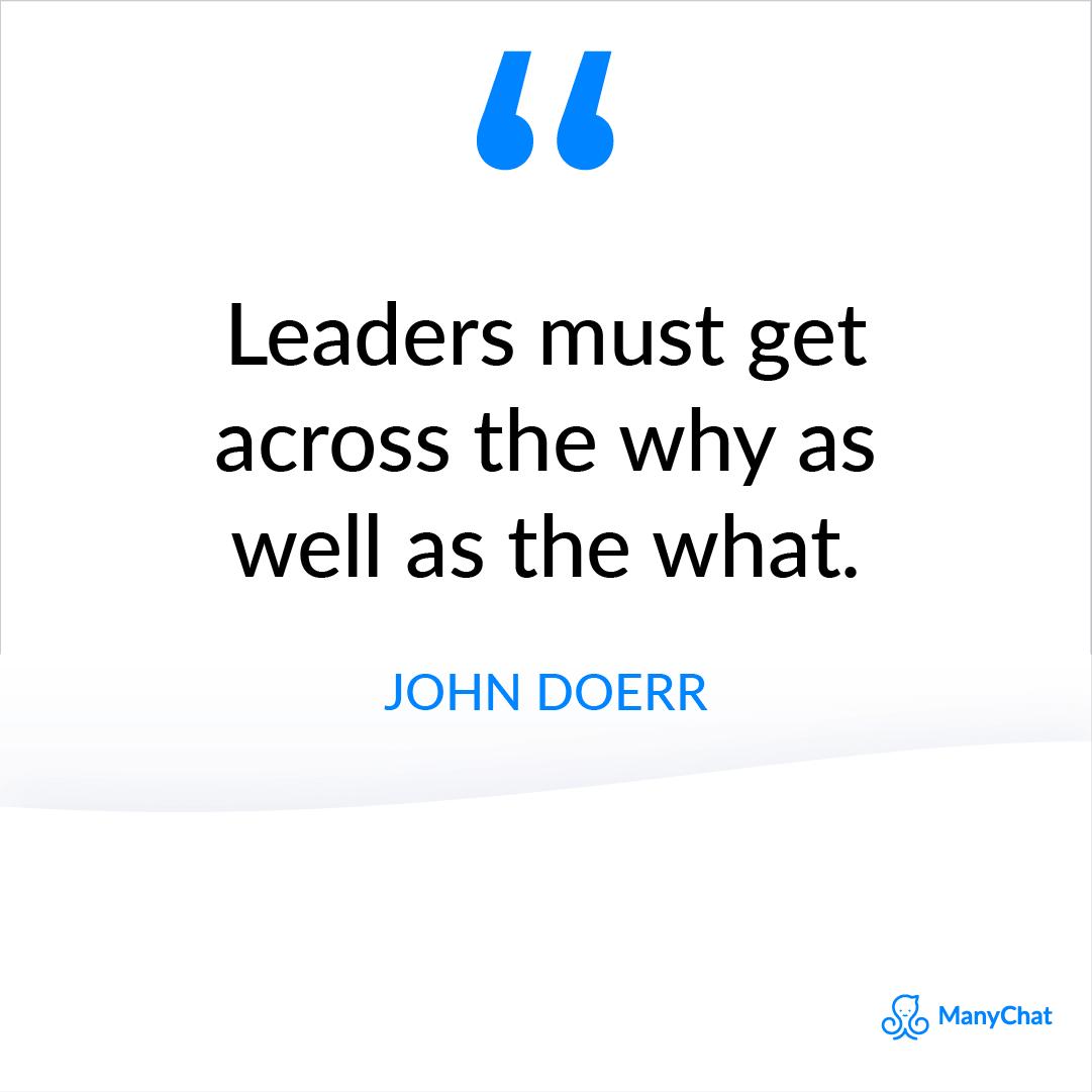 John Doerr Quote