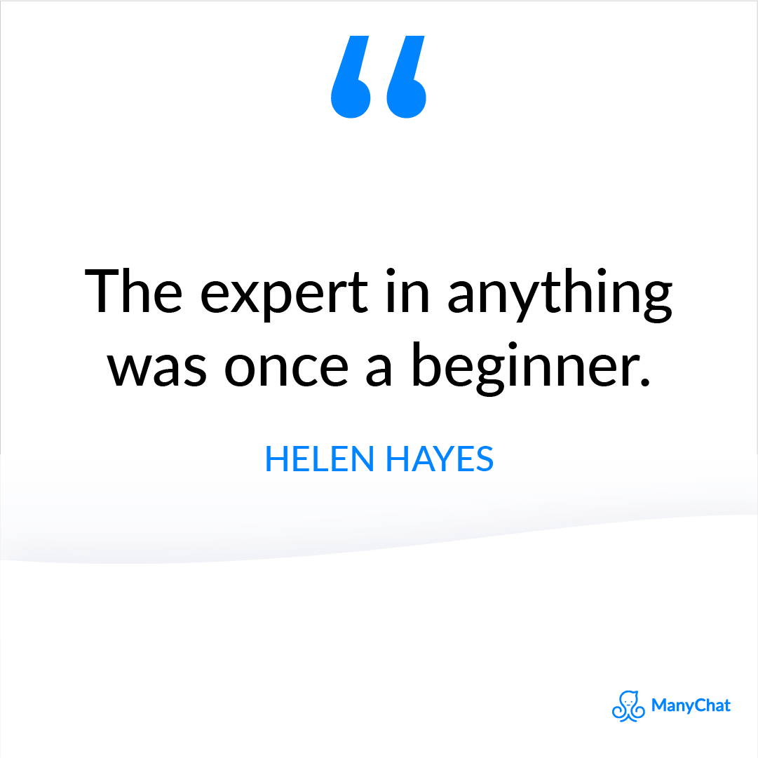 Inspirational Quote from Helen Hayes