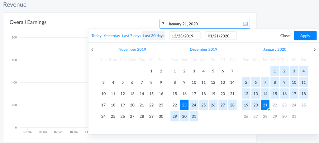 Analytic Calendar