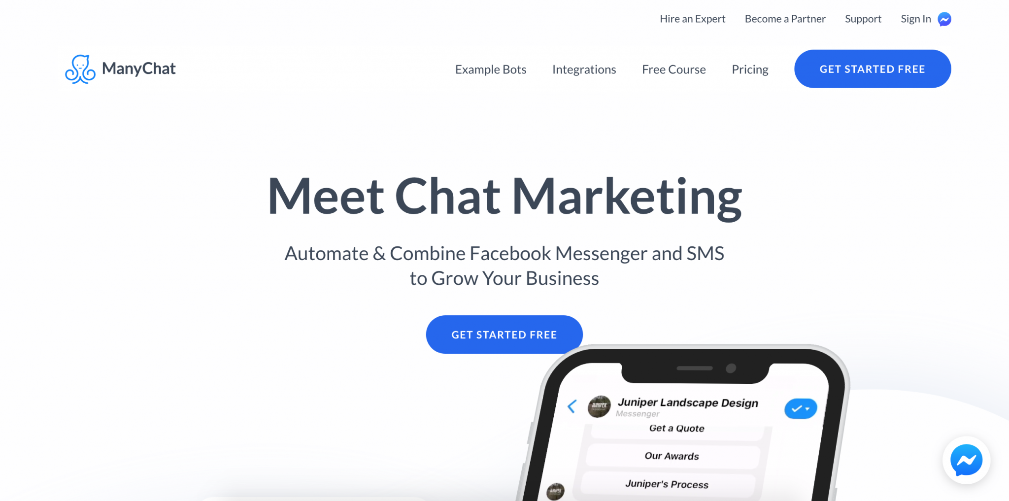 Best B2B Lead Generation Tool - ManyChat