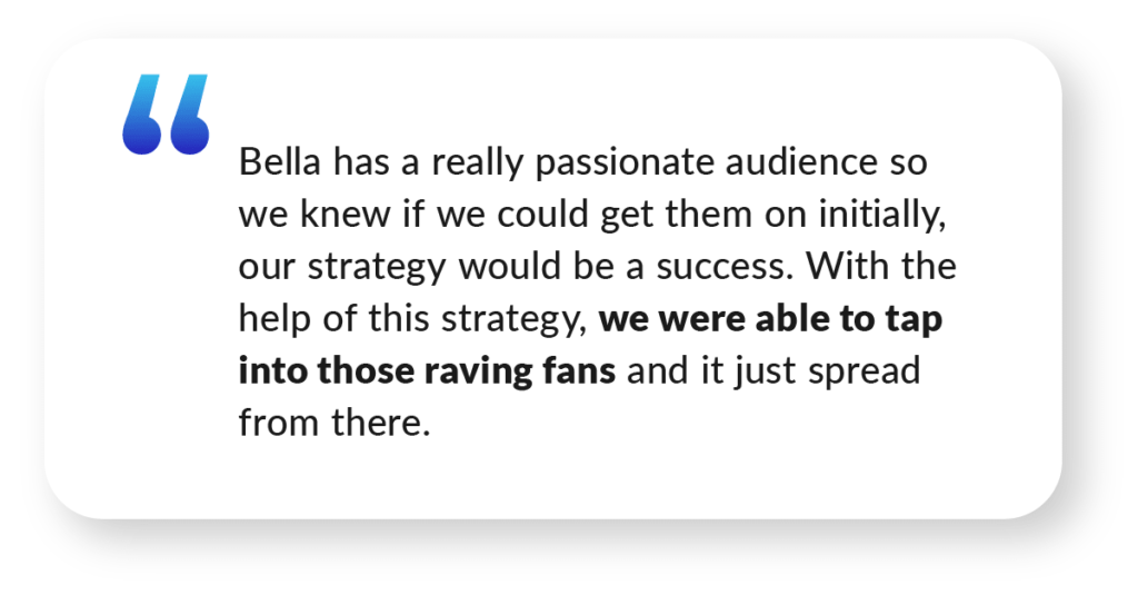 Quote about Facebook Live Case Study