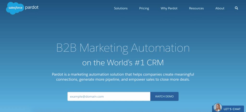 Pardot Sales Automation Tool