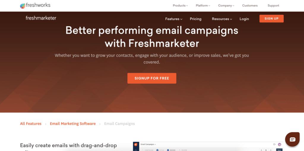 Freemarketer emails