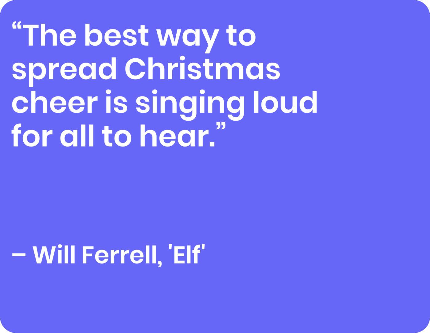 will ferrell, elf