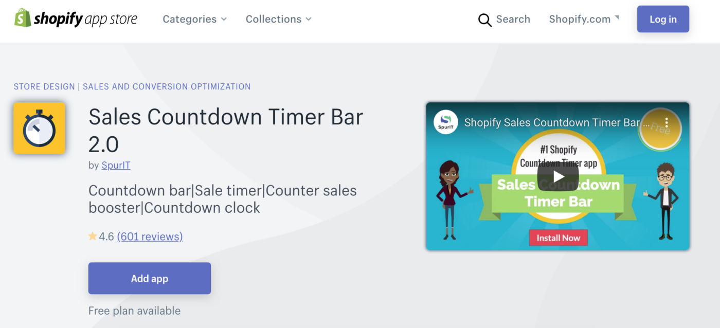 Sales Countdown Timer Bar 2.0