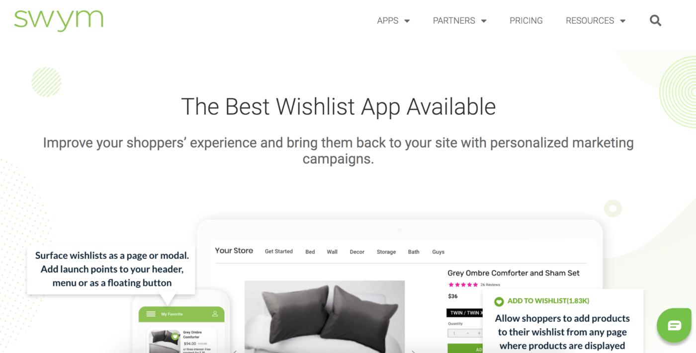 Swym The Best Wishlist App for Shopify