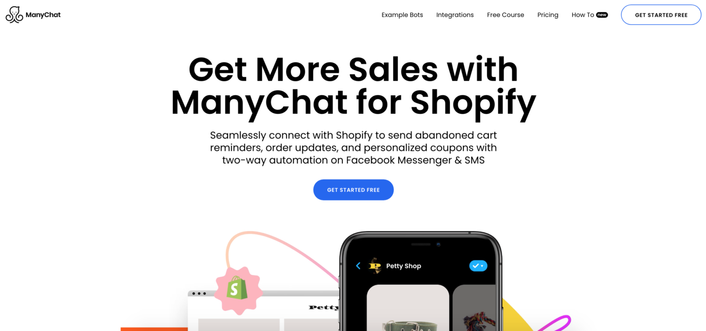 ManyChat and Shopify integration