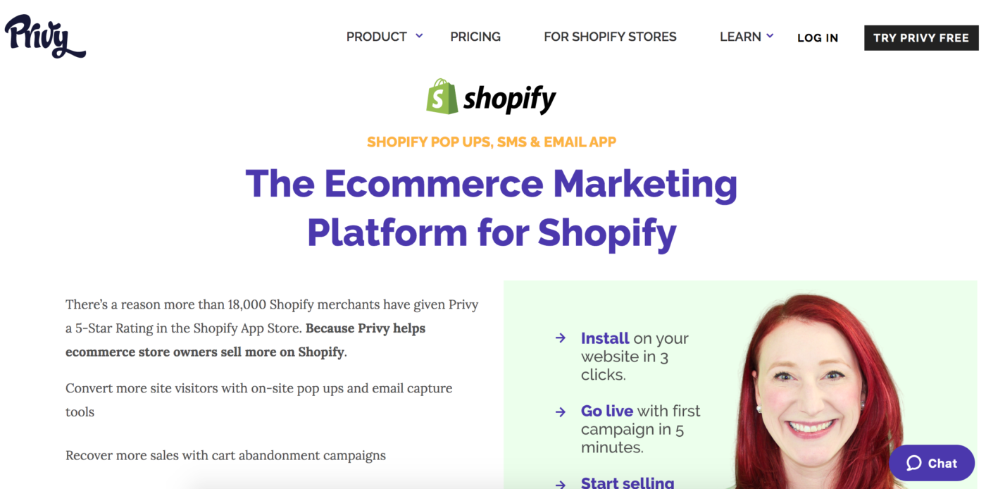 Privy Shopify App
