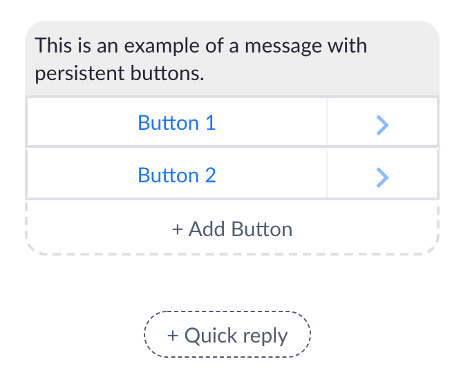 Chat buttons