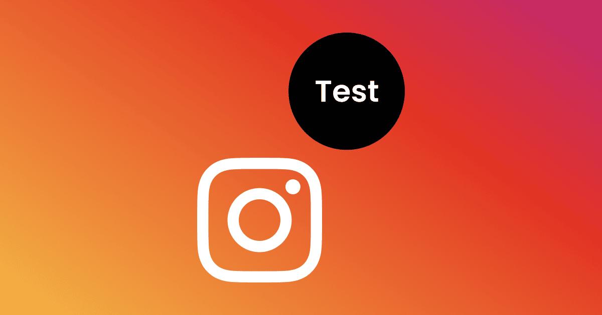 Instagram Test Account
