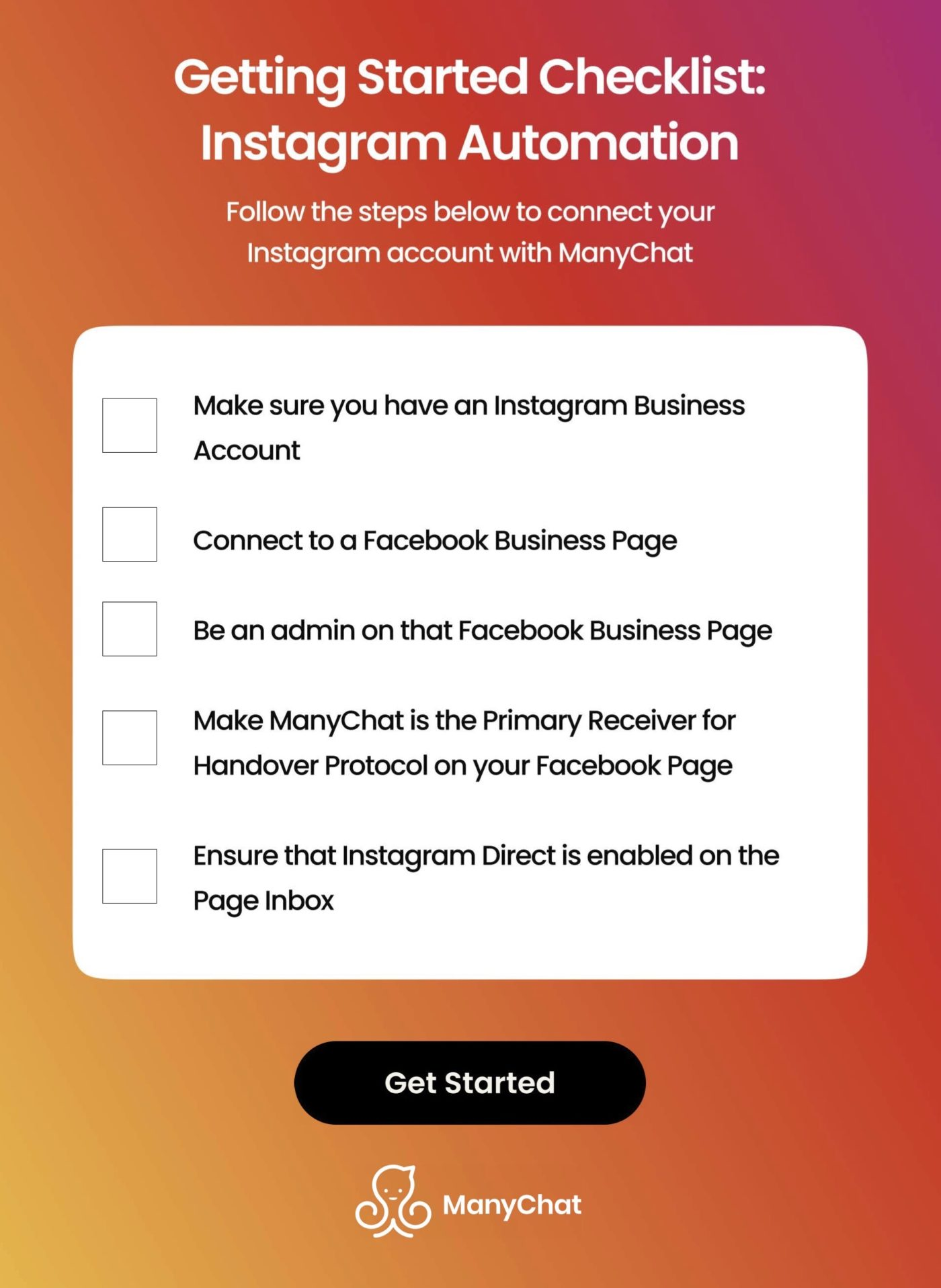 how to get started with instagram automation