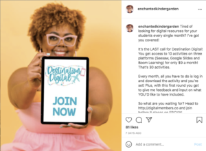 Take a look at how Instagram account @Enchantedkindergarden has planned her strategy around relevant products.