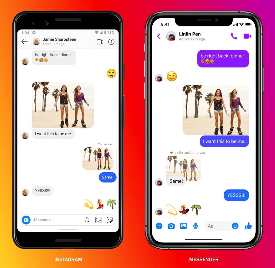 Instagram Direct vs Messenger